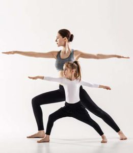 parent and child  light heart yoga and therapy in holmdel